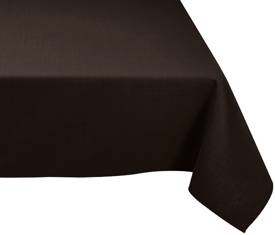 nappe rectangulaire noir anti tache 150x240cm harmonie florale. Black Bedroom Furniture Sets. Home Design Ideas