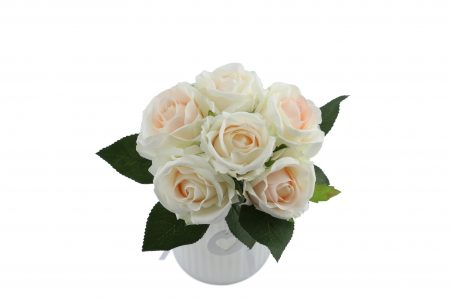 Bouquet de rose cream