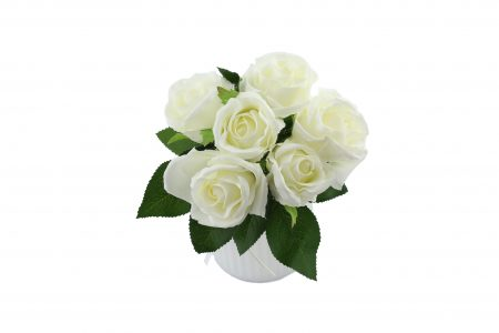 Bouquet de rose white