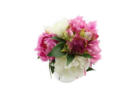 Bouquet de pivoine pink cream