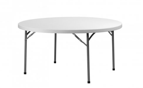 Table ronde pliante 152 cm