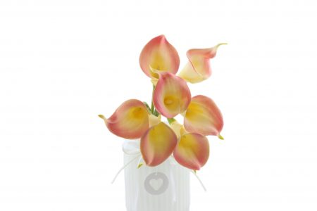 Bouquet de calla rose