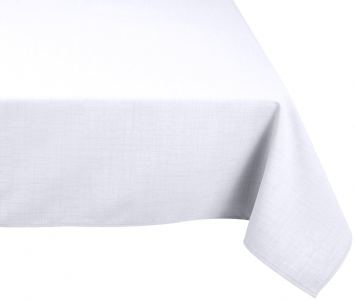 Nappe rectangle blanche