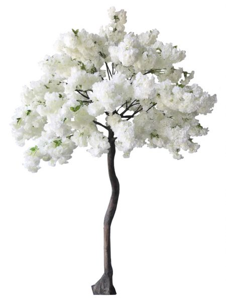 Arbre artificiel blanc